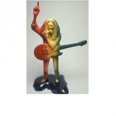 Bob Marley One Love ~ Aluminum, wood, paint