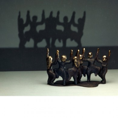 Dance of I & I ~ Bronze Ltd Edition available @ The Evergreen Gallery